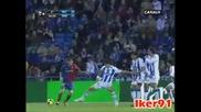 Рекре - Барселона 0 - 2 16.11.2008 Меси Гол