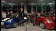 Bbc Top Gear Clarkson срещу Hammond