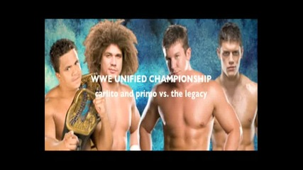 Wwe The Bash 2009 The Official Poster And Matches (официалния плакат и мачовете)