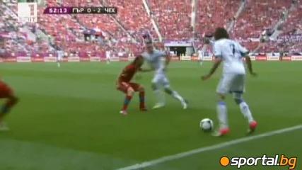 Страхотен мач! Гърция - Чехия 1:2