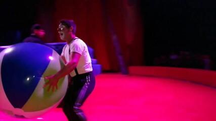 """Цирк """"Арена"""" в Бургас - август 2020. Клоунът Мишо!"""