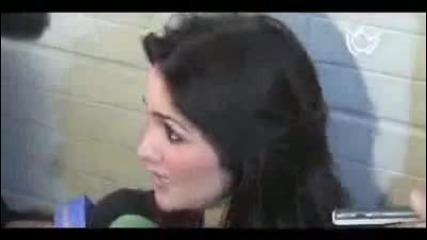 Дулсе Мария и Алфонсо Ерера на интервю в тв Mezcalent [2010]