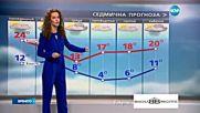 Прогноза за времето (03.10.2016 - обедна емисия)