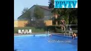 Triple Backflip In A Pool [ppvtv]