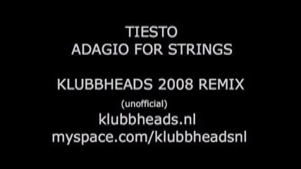 * Лудница * Dj Tiesto - Adagio For Strings (klubbheads 2008 Remix)