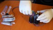 Зареждане и обезвъздушаване на система за непрекъснато подаване на мастило Брадър-j5910