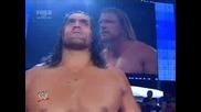 Smackdown 29.08.08 - Triple H Vs Shelton Benjamin