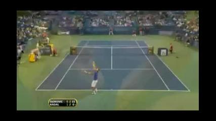 Тенис Синсинати 2009 - Федерер vs Мъри