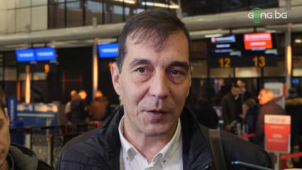 Петричев: Впечатлен съм от работата на Върба, той е човек със сериозен опит