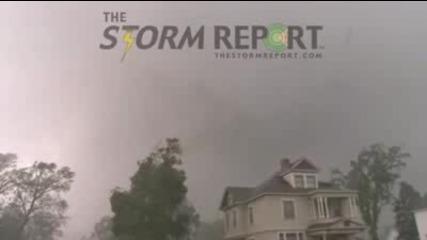 опустошително Торнадо! 17 юни 2010*wadena*
