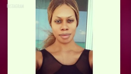 Check Out Laverne Cox's Instagram Selfie Sans Makeup!