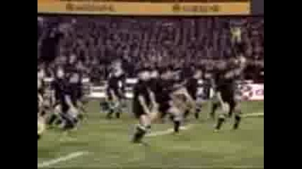 Haka - New Zealand All Blacks Rugby