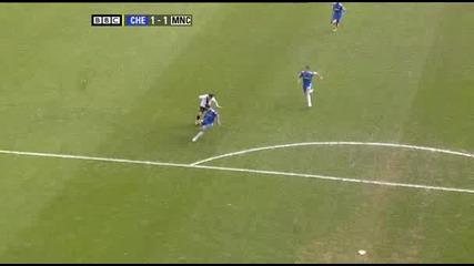 Челси 2 - 4 Ман. Сити [ Най - интереснот от мача ] 27.02.2010