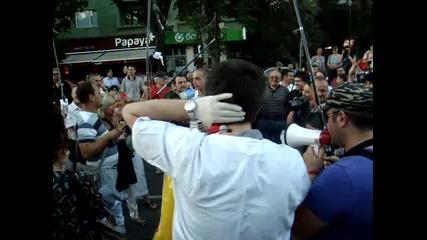 Дансwithme Протест - Креативни протестиращи - 03.07.2013 г