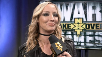 For which Superstar does Nita Strauss want to write a theme song?: WWE.com Exclusive, Nov. 17, 2018