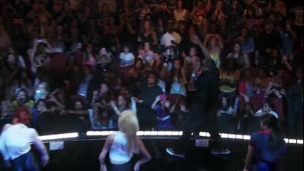 Вече И С Видео!! Justin Bieber - All Around The World ft. Ludacris