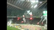 Oaka On Fire!! Panathinaikos Gate 13 Hell