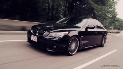 Bmw 5 Series E60 on 20 Vossen Vvs-cv2 Concave Wheels (2)