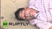 India: Stampede kills 27 at religious festival *GRAPHIC*