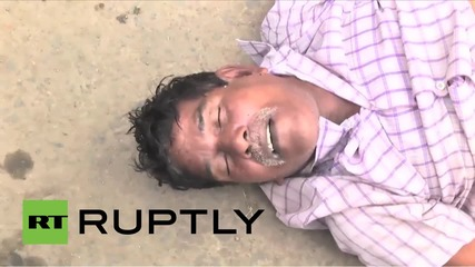 India: Stampede kills 27 at religious festival *GRAPHIC*