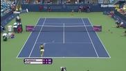 Cincinnati 2015 Simona Halep vs Kristina Mladenovic Set-2