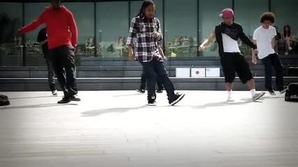 Dance for Japan C-walk