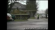 Driving a Tiger Tank