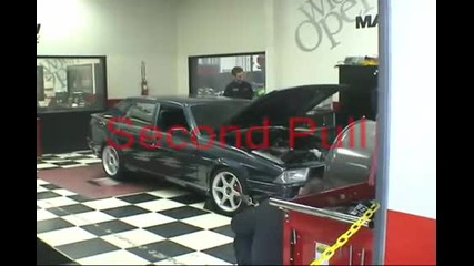 alfa 75 3.0 24v V6 Milano on dyno