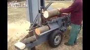 Брилиянтна машина за рязане на дърва(леко шумна)