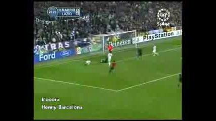 Real Madrid 3 - 1 Lazio (супер Качество)
