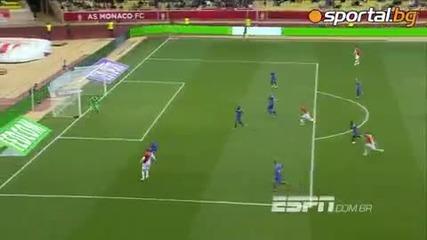 20.04.14г. Монако - Ница 1 0, брилянтен гол на Бербатов.