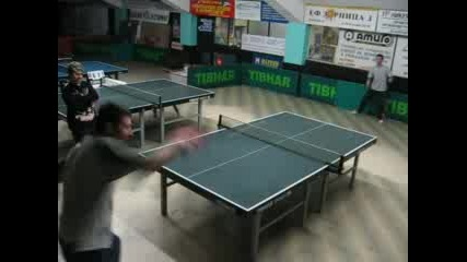 Зрелищно Разиграване - Тенис На Маса