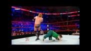 Stunner & Spin Out Powerbomb - Hornswoogle & John Cena