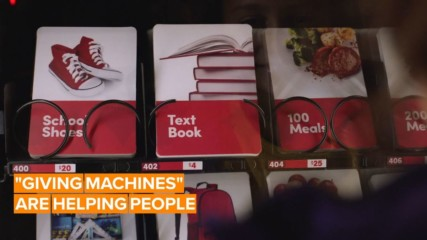 What if you could buy goodness from a vending machine?