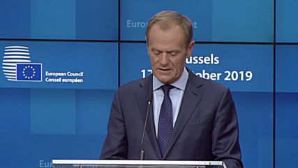 Belgium: European Council endorses new Brexit agreement - Tusk