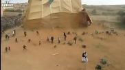 Отиде им на хората палатката