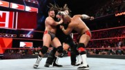 The B-Team vs. The Deleters of Worlds vs. The Revival - Raw Tag Team Championship Triple Threat Match: Raw, Aug. 13, 201
