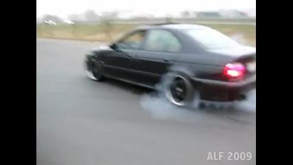 Bmw E39 M5 Burnout