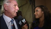 Flair's golden prediction - Raw Fallout - July 14, 2014
