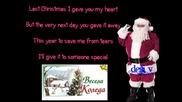 Cascada - Last Christmas { lyrics video } ;