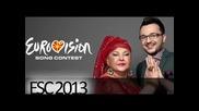 Esma Redzepova i Vlatko lozanovski - Imperija 2013 Eurovision - makedonija