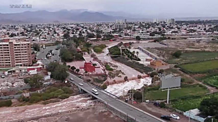Chile: Rainfall causes deadly flooding in north, catastrophe declared