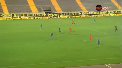 Голът на Арсенио за 2:1 за Литекс срещу Левски