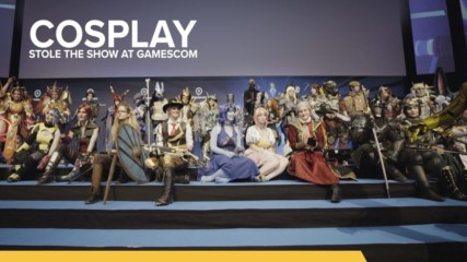 Cosplayers brought the fire at this year's Gamescom