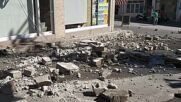 Greece: Houses damaged in Heraklion after Crete earthquake
