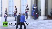 France: Merkel arrives for Normandy Quartet talks on Ukraine crisis