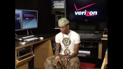 In the Verizon Mobile Recording Studio with Soulja Boy Tell Em