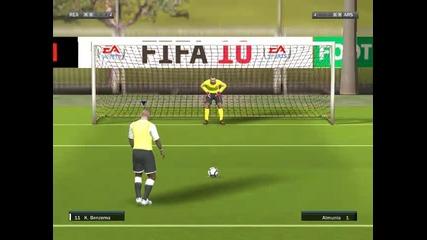 Дуспи - Real Madrid - Arsenal Fifa 10 еп.2