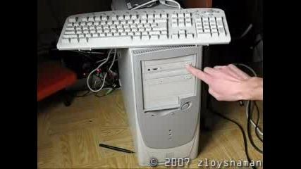 Интересен Трик С Компютър И Cd