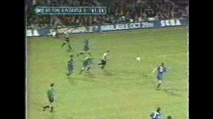 Gol de Letissier (southampton vs Newcastle)